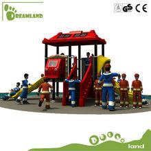 EU standard gorgeous kids used outdoor adventure playground equipment