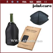 bottle wine cooling gel cold cover, gel cold cover