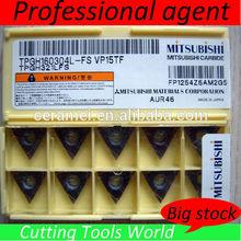 TPGH160304L-FS VP15TF tungsten carbide cutting tools, MITSUBISHI CNC turning tools inserts