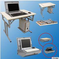 Modern Flipping screen Folding Computer Desk | portable computer table | study table