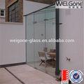 Como/nzs2208 banheiro vidro temperado portas de entrada