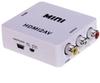 Mini HDMI to RCA AV/CVBS Composite Adapter Converter for PC/PS3/VCR/DVD PAL/NTSC