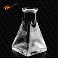 triángulo frasco de laboratorio uso de productos químicos de la botella de vidrio