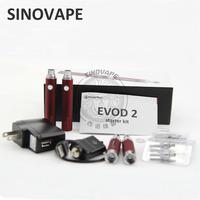 In Stock Kanger EVOD vv Battery High quality colorful evod vv kanger evod 2 starter kit from sinovape.