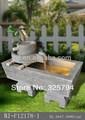 resina jardín chino fuentes de agua