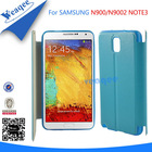 fashionable leather flip case for samsung galaxy note 3