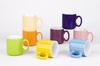 12oz colorful glaze ceramic mug