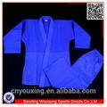 Arte marcial 100% azul de algodón uniforme de judo/de judo gi