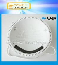 EN149:2001 FFP1/FFP2/FFP3 active carbon N95 3N disposable dust mask