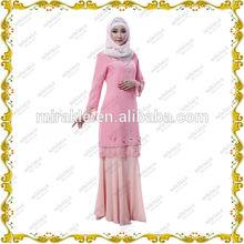 Mirakle MF20840 NEw designer Pink Batik baju kurung