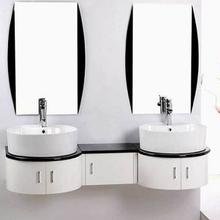 Irregular Shape Lacquer Bathroom Vanity