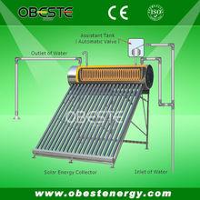 Vacuum Tube Pressure Compact Solar Water Heater