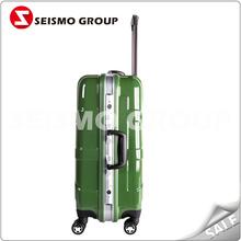 2012 cheap fashion luggage luggage with universal wheels
