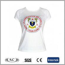 wholesale 100%cotton usa new style beautiful woman t-shirt