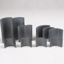 customized Hard Ferrite motor magnet