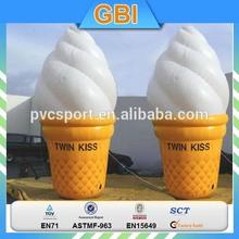 inflatable ice cream cone