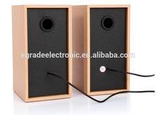 100% natural wood bass Mini speaker computer mini speakers USB music mini speakers for iPhone, for iPod