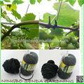 pvc negro de jardín de árboles los lazos
