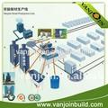 Espuma de poliestireno de injeção de parede painel de sanduíche linha de produção/máquina