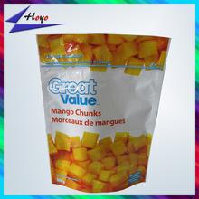 plastic bag metallic foil bags for frozen mango