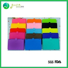 popular style high quality silicone vinyl business card holder