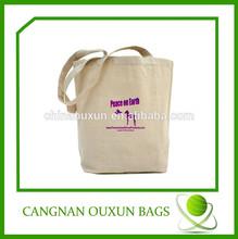 custom high quality eco popular cotton shopping bag