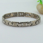 Wholesale heart infinity stainless steel fashion charm bracelet