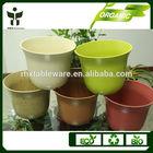 BAMBOO FIBER planter pots/flower pots/artificial fllower vases china supplier