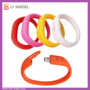 8gb silicone usb bracelet,8gb usb disk bracelet,8gb usb flash drives with silicone bracelet