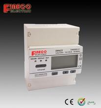 EM427 kwh meter single phase digital 120v smart electricity meter single phase single phase din rail watt-hour meter