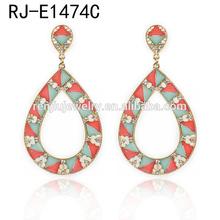 Alibaba best seller fine alloy tear drop earrings dangle earring