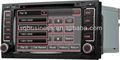Ans710รถวิทยุเครื่องเล่นดีวีดีสำหรับโฟล์คสวาเกนtouareg/vwmultivant5กับautoradiogpsนำทางobdipasopsขายร้อนฟังก์ชัน