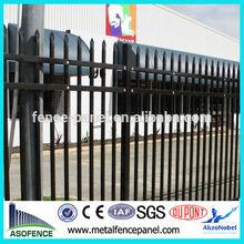 China manufacturer supply steel parking lot fence