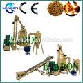 1t/h de residuos de madera de aserrín de pellets línea de producción de leabon
