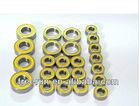 High speed TAMIYA TRF417 V5 4WD steel bearing kits rubber shields