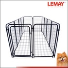 5x10x4ft fashion hot-sale black welded wire dog kennel cage stainless steel