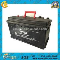 DIN100 MF maintenance free auto Batteries 12V 100AH
