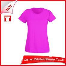HOT SELLING! 220G Promotional Top Quality t-shirt 100% cotton girls fashion t-shirt