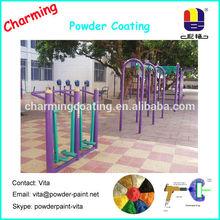 exterior sports equipment uv resistant powder paint colors