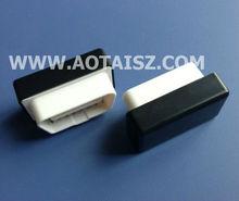 China smt type obd2 connector mini obd WIFI case