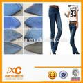 Nouveau 98% 2% coton et spandex denim jeans fabricant