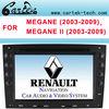 For Renault Megane II Car DVD Player 2003-2009