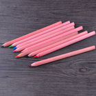 red jumbo wooden pencil with high quality lead