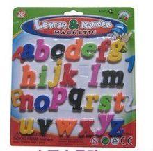 2014 top venta!! Alfabeto magnético educativos de juguete de plástico cuchillo