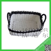 Environmental plastic fruit basket,plastic storage baskets,pp woven baskets