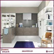 Guangzhou Factory modern kitchen laminate kitchen cabinet mixture design