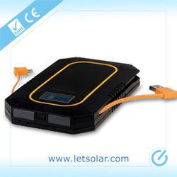 2014 new portable 6000mah high power 10 watt solar panel