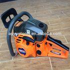 52cc orange and black color gasoline chain saw 5200,oil chain saw