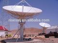 6.2m banda c tx y rx antena vsat motorizado