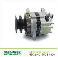6D22 R200-5 24 volt alternator generator for excavator
